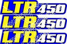 LTR450 Swingarm Airbox Number Plate Decal Stickers LTR 450 4 stroke ATV Quad