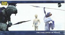 Star Wars Clone Wars Widevision Silver Stamped Parallel Base Card [500] #53