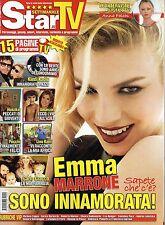 Star Tv.Emma Marrone,Vittoria Puccini,Anna Falchi,Michelle Hunziker,Lino Banfi,i