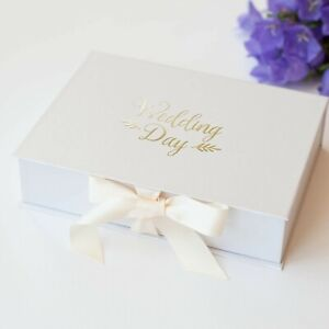 5x7 Photo Album Box Prints Keepsake Photography Wedding Gift Paper Blue