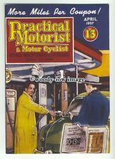 ad0270 - Practical Motorist & Motor Cyclist Magazine - Modern Advert Postcard