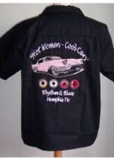 Damen-Bowling für Herren Vintage-Freizeithemden & -Shirts