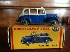 Austin Taxi, ref 067, Dublo DINKY TOYS England en boite