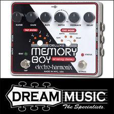 Electro Harmonix EHX Deluxe Memory Boy Tap Tempo Analog delay FX Pedal RRP$449