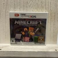 Minecraft [ New Nintendo 3DS Edition ] (3DS) Brand New Factory Sealed