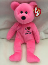 Brand new! I love / heart San Francisco SF Exclusive TY Beanie Babies  w/ tags