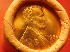 1952-D OBW ORIGINAL BANK WRAPPED ROLL BU UNCIRCULATED LINCOLN WHEAT CENT PENNIES