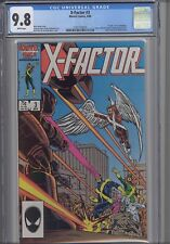 X-Factor #3  CGC 9.8 1986 Marvel  Comic: Death Issue!  NEW CGC Frame