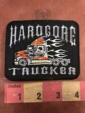 Flames HARDCORE TRUCKER Trucking Patch - Fast Truck! 00U8