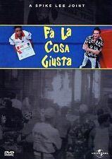 Dvd  FA' LA COSA GIUSTA  ......NUOVO