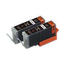 2 BLACK Replacement Printer Ink for Canon PGI-250PGBK MG5520 MG5522 MG6600 MX922