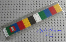 LEGO 6 in/15 cm SCHOOL RULER - Smooth Flexible Flat Plastic Child Measuring Tool