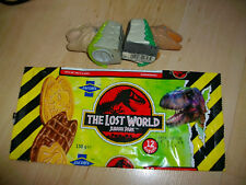 JURASSIC PARK JACOBS LOST WORLD WRAPPER & 2 SWEET FIGURES