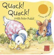 Peter Rabbit Seedlings - UK Quack, Quack!: Sound Book by Potter, Beatrix, Good B