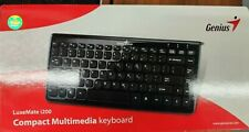Genius LuxeMate i200 Compact Stylish Keyboard