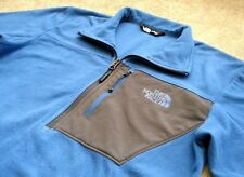 THE NORTH FACE Micro Fleece JACKET Men's size Small blue