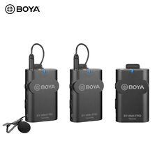 BOYA BY-WM4 Pro K2 Portable Wireless Microphone System for Smartphone Camera