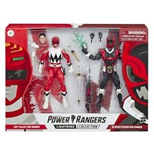 Power Rangers Lightning Collection In Space Psycho and Lost Galaxy Red Ranger