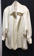 Ladies Blazer By Lavantino ~Cream~ Lined ~ Size XL