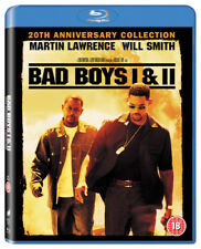 Bad Boys I & II Blu-Ray (2016) Martin Lawrence, Bay (DIR) cert 18 ***NEW***