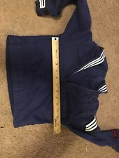 1940s  WW2 Childs US Navy Blue Crackerjack Sailor Uniform Suit Top Pants Costume