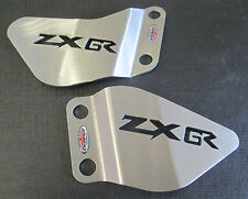Kawasaki ZX6R 636A1P (98-02)Stainless Steel Foot Peg Heel Plates Beowulf HPKA010