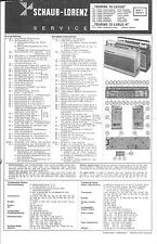 ITT/Schaub-Lorenz/Graetz Service Manual für Touring 70 Luxus H