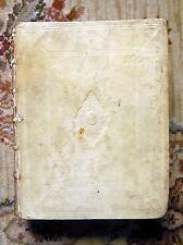 1725 Vellum GEORGE BUCHANAN - OPERA OMNIA, HISTORICA, CHRONOLOGICA, JURIDICA, &c