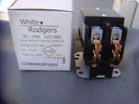 *NEW* WHITE RODGERS 90-248 2-POLE DEFINITE PURPOSE CONTRACTOR WITH THE BOX