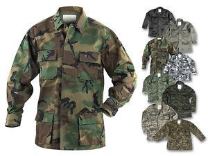 Mil-Tec US BDU Feldjacke Tarnjacke Jacke Einsatzjacke Kampfjacke S-XXL