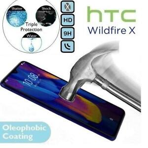 100% Genuine Tempered Glass 9H Screen Protector (Wild Fire) For HTC Wildfire X