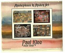MODERN GEMS - Maldives - Paul Klee - Sheet Of 4 - MNH