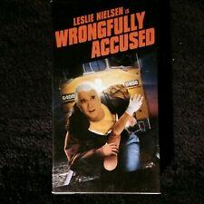 Wrongfully Accused Vhs Leslie Nielsen Comedy Movie