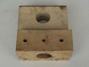 2 x Wood Bearings for Twose Roller VAT Inc