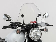 "Yamaha Virago XV700 & XV750 - Clear 15"" CSF Windshield w/Black Hardware Kit"