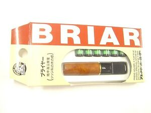 Friend Briar Cigarette Holder Double Filtering System Reduces Tar & Nicotine