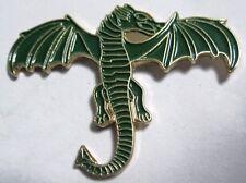 Esmalte Metálico PRENDEDOR PIN BROCHE DRAGON mitología mitológica CRIATURA