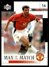 Upper Deck Manchester United 2002-2003 - Roy Keane Man of the Match No.36