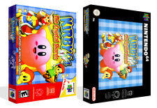Kirby 64 The Crystal Shards N64 Replacement Game Case Box + Cover Art (No game)