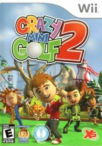 Crazy Mini Golf 2 - Nintendo  Wii Game