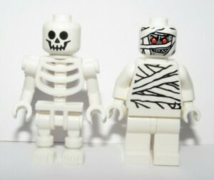 Lego Skeleton & Mummy Minifigure Figure Halloween Monster Zombie