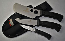 SMITH & WESSON BULLSEYE 3 IN 1 CAMPING KNIFE COMBO PACK