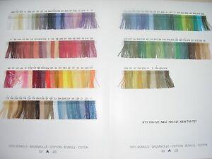 Fremme Blomstergarn, Haandarbejdets Fremme dänisches BW-Garn, keine Farbkarte