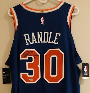 Julius Randle New York Knicks Nike Aeroswift Authentic Signed Jersey FANATICS