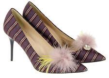 J Crew Collection Women's Elsie Pumps Heels Feather Stripe 11 Style E0783