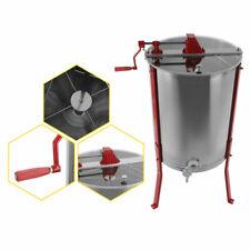 Centrifugeuse Extracteur De Miel Manuel à 2 Cadres Inoxydable Opération Facile