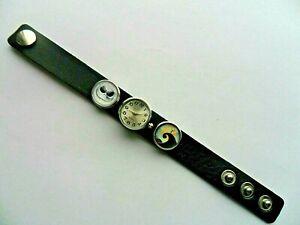 Unusual   NIGHTMARE BEFORE CHRISTMAS  Snap Button  Bracelet Quartz Watch