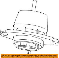 CHRYSLER OEM-Engine Torque Strut Mount 68252518AA