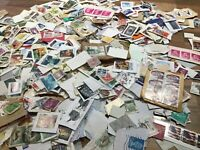 World / Foreign stamps on/off paper. Kiloware. FREE UK POSTAGE ##2