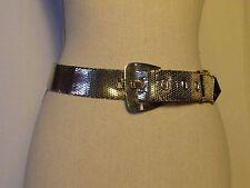 ceinture vintage WHINTING DAVIS métal doré